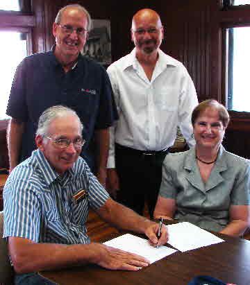 Heritage Council Signs Depot Lease